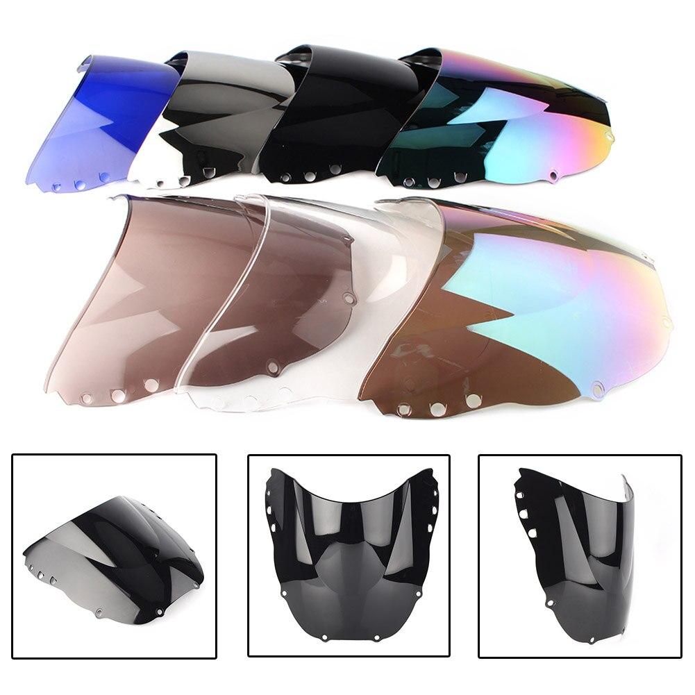 Cbr900hr parabrisas doble burbuja para Honda CBR900 CR CBR919 1998 1999 accesorios de motocicleta ABS plástico