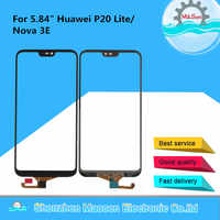 "Original M&Sen For 5.84""Huawei P20 Lite/Nova 3E Front Glass Touch Screen Panel Digitizer For Huawei P20 Lite Touch Screen Sensor"