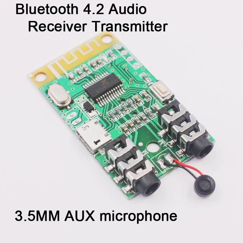 Wireless Stereo Bluetooth 4.2 Audio Receiver Transmitter sound card serial modulWireless Stereo Bluetooth 4.2 Audio Receiver Transmitter sound card serial modul