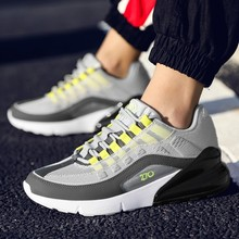 Hot Selling Men Casual Shoes Fashion Lace-up Comfortable Men's Shoes Wear-resisting Non-slip Sneakers For Adult Male Footwears