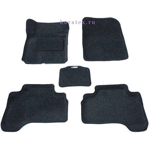 3D carpet BORATEX BRTX-1065 for Suzuki Grand Vitara 2005-dark gray brand new for 2004 2005 bodywork suzuki gsxr 600 750 gray black fairing kit k4 gsxr600 dfv 04 05 gsxr750 fairings kits