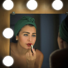 Новинка, косметическое зеркало, косметический светодиодный светильник, лампочка, комплект, usb порт для зарядки, косметический светильник, ed зеркала для макияжа, лампочка, регулируемая яркость, светильник