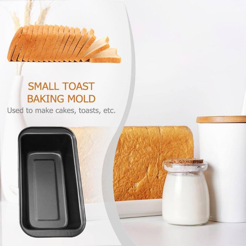 Toast Baking Mold Cake Baking Mold Carbon Steel Toast Bread Pans  Long Toast Box Baking Supplies Bakeware Kitchen Tool