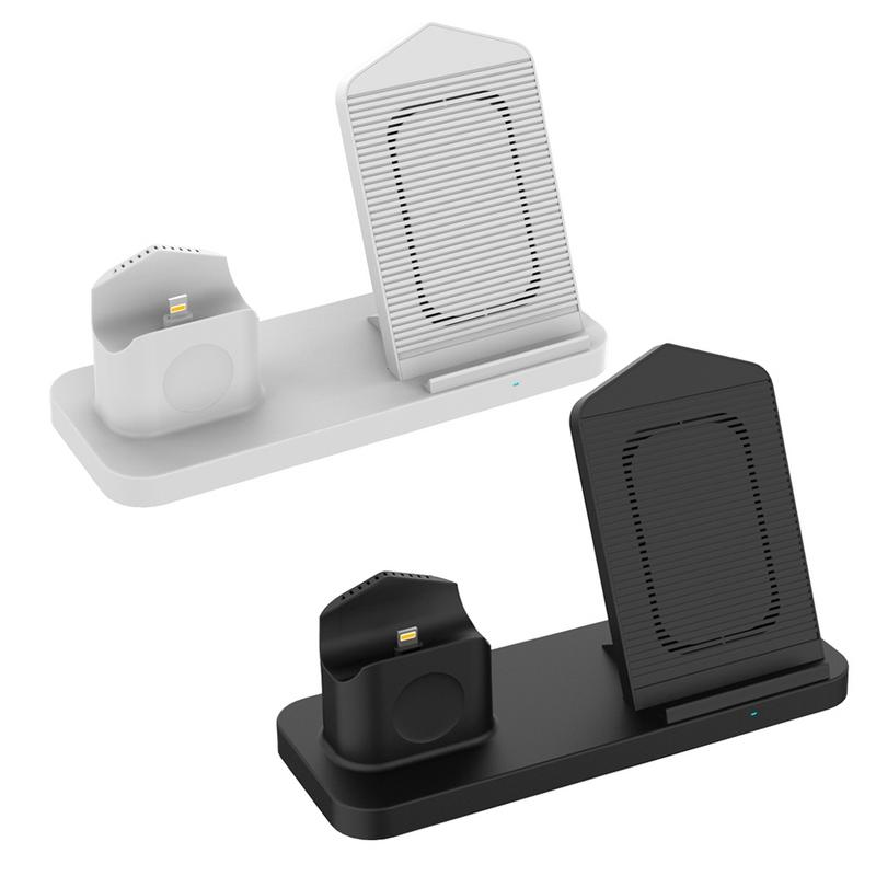 Wireless Charger Base Bracket 3 in 1 Suitable For iPhone iWatch AirPods Portable Non slip High