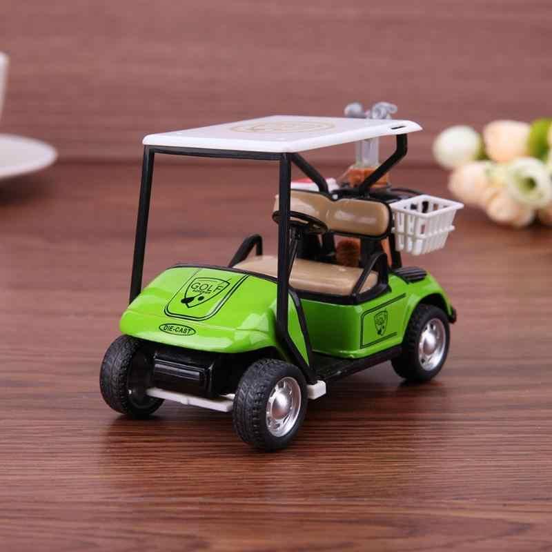 ベビーカーのおもちゃ 1:36 スケール合金モデルカーの子供のおもちゃ高シミュレーションゴルフカートモデルおもちゃ子供子供コレクション玩具