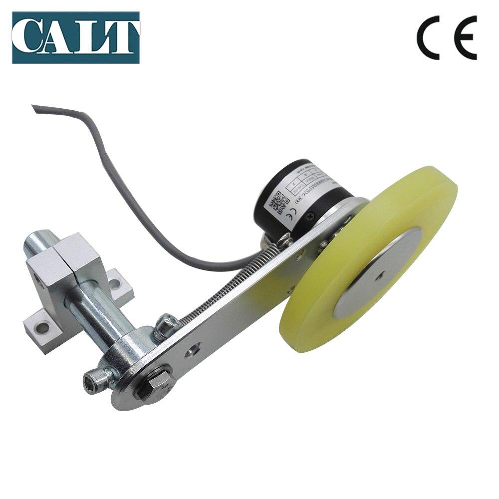 GHW38 デジタル長さ測定装置非スリップローラーホイールロータリー光学エンコーダ柔軟なバネ上取付合金ブラケット  グループ上の ツール からの カウンター の中 3