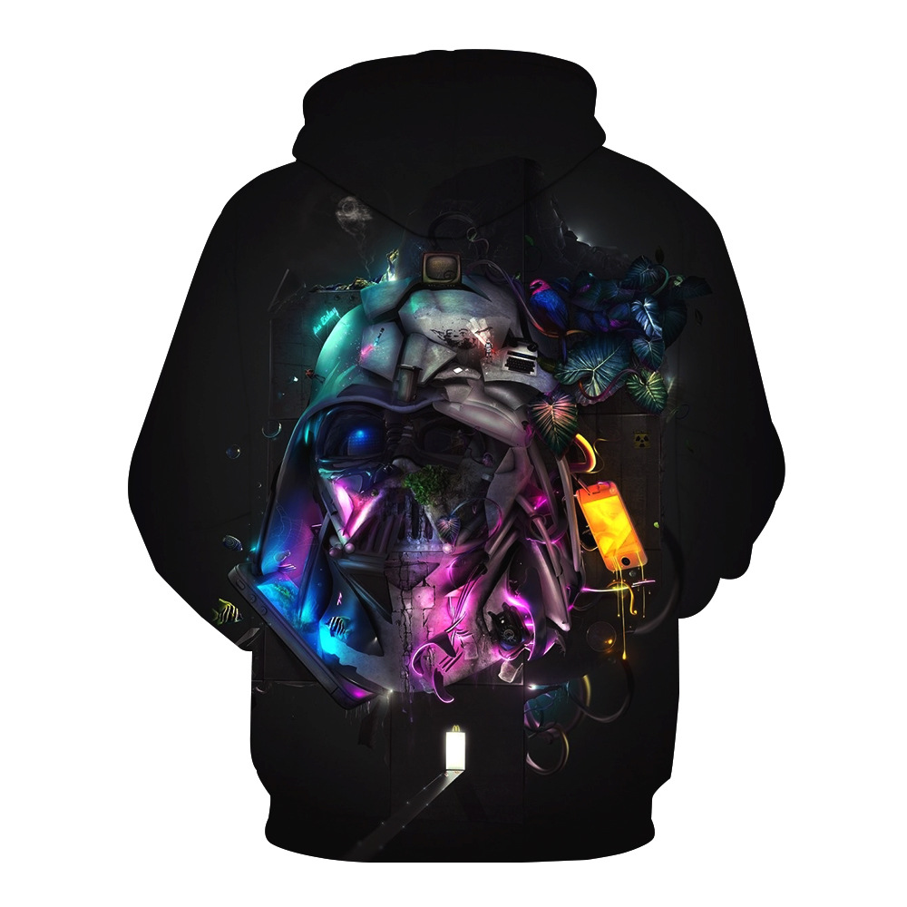 Fans Made Star Wars Cosplay Hoodies for Men Long Sleeve 3D Printed Sweatshirt 2019 Homme for Movie Fans Casual Tops in Hoodies amp Sweatshirts from Men 39 s Clothing