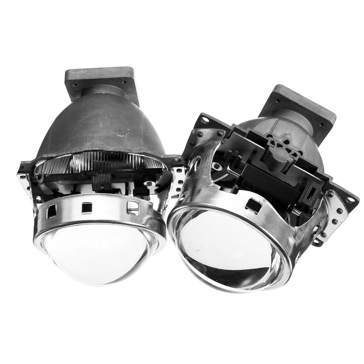 2pcs Car Headlight for HID Bi xenon Projector Lens Kit LHD for Koito Q5 35W Headlight