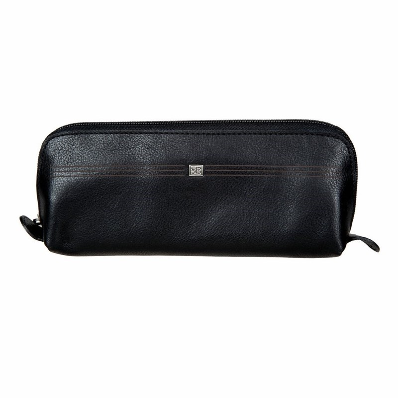 Cosmetic Bags & Cases SergioBelotti 1808 west black cosmetic bags