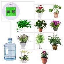Микро автоматический набор для полива растений таймер для полива сада таймер для воды домашний офис наборы для воды инструмент для полива насос Система
