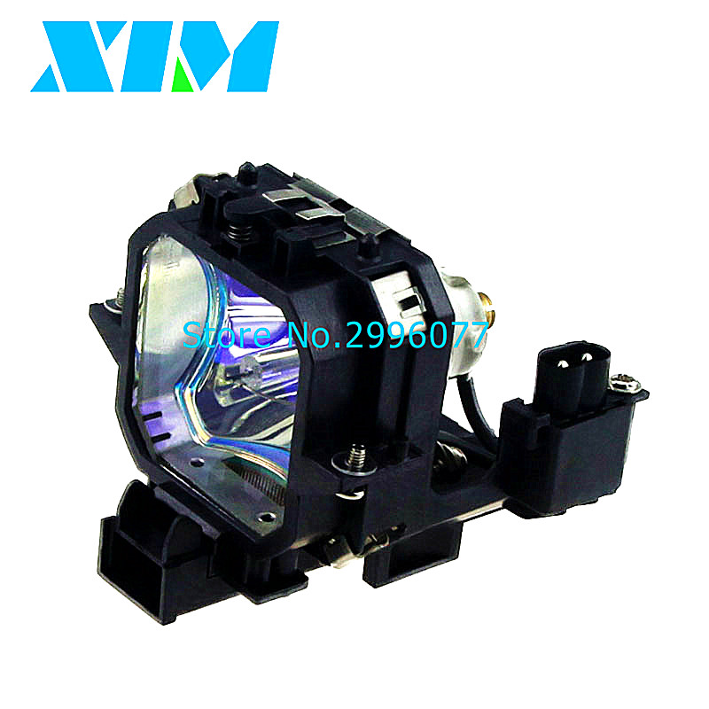 Replacement Projector Bare Lamp With Housing ELPL21/V13H010L21 For EPSON EMP-53 EMP-73 / PowerLite 53c PowerLite 73c Projectors