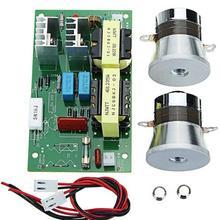 110 В/60 Вт/28 кГц ультразвуковой генератор модуль питания ультразвуковой генератор Мощность доска преобразователь вибратор