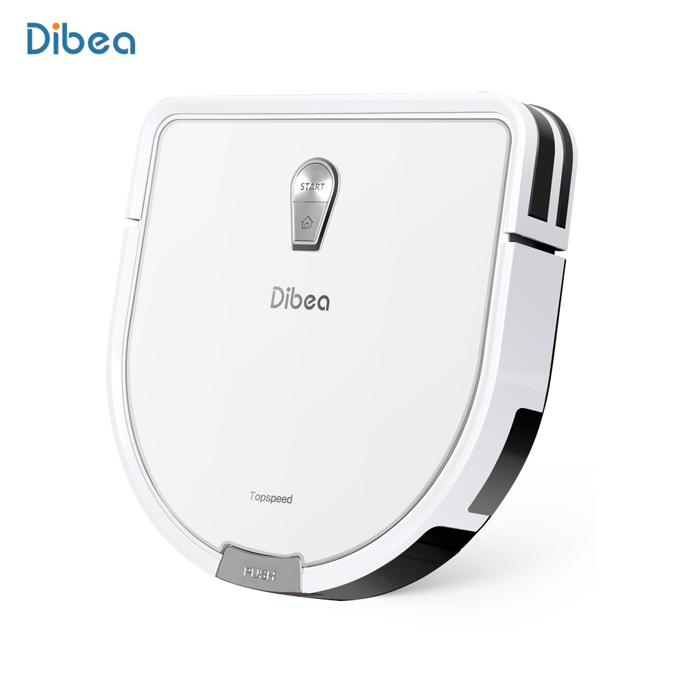 Dibea GT200 Robotic Vacuum Cleaner Automatic Intelligent Wet Dry 1200Pa Strong Suction Cleaning Robot APP Control With Dust Box liectroux x5s robotic vacuum cleaner wifi app control gyroscope navigation switchable water tank