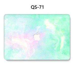 Image 4 - Funda para portátil MacBook Air Pro Retina 11 12 13 15,4 pulgadas con teclado Protector de pantalla cubierta
