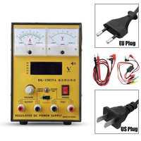 110V/220V to 15V 2A Portable Digital LED DC Power Supply Adjustable Regulator EU Plug/US Plug Power Supply