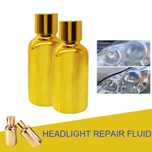 2X30 ML Car Auto Headlight Renovation Repair Liquids керабуд акварель 3шб лилия 6 2x30