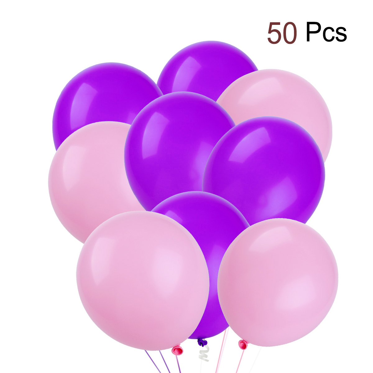 50pcs Round Latex Balloons Decorative Balloons Birthday Wedding Party Decoration Supplies