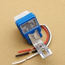 Автоматический переключатель уличного света на фотоэлемент 12 В постоянного тока 50-60 Гц 10 А переключатель датчика фотосъемки
