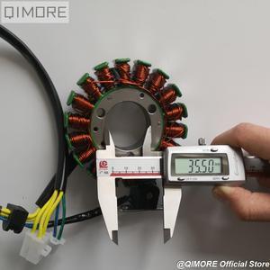 Image 4 - Магнитный статор 93 мм с пикапом для скутера Majesty YP250 Linhai AEOLUS VOG 250 257 260 LH170MM xingyΦ