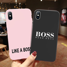 Moskado Silicon For iPhone 7 Case Letter