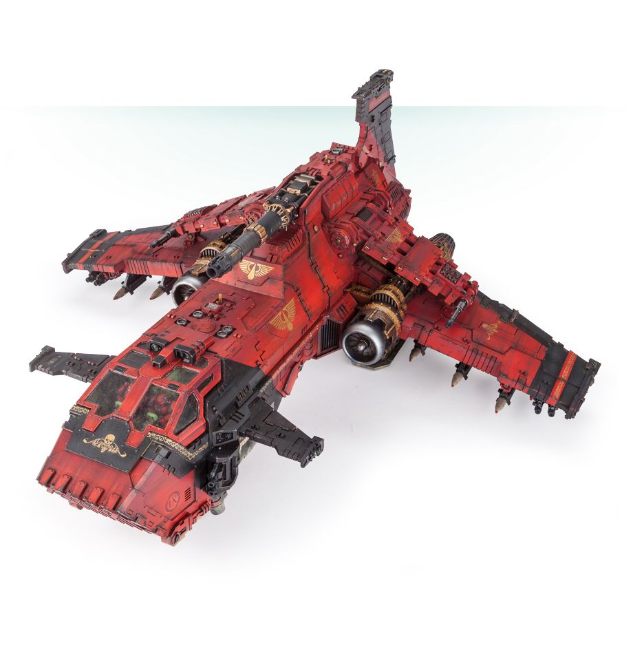 Image 1 - Legion Thunderhawk Gunship-in Model Building Kits from Toys & Hobbies