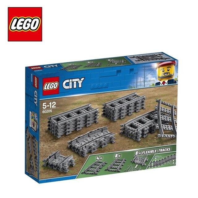 Конструктор LEGO City Trains 60205 «Рельсы»