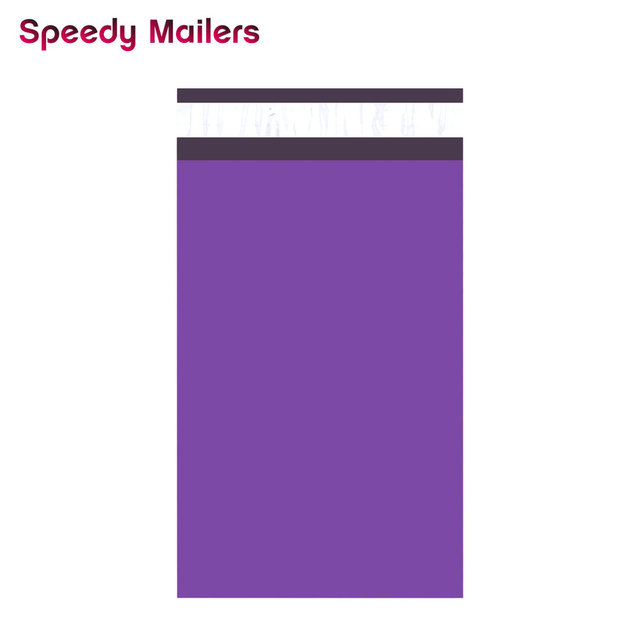 Speedy Mailers 100 PCS 6x9 นิ้ว 150*230 มม. ที่มีสีสัน Poly Mailer สีม่วง Poly Mailer Self Seal พลาสติกซองจดหมายถุง