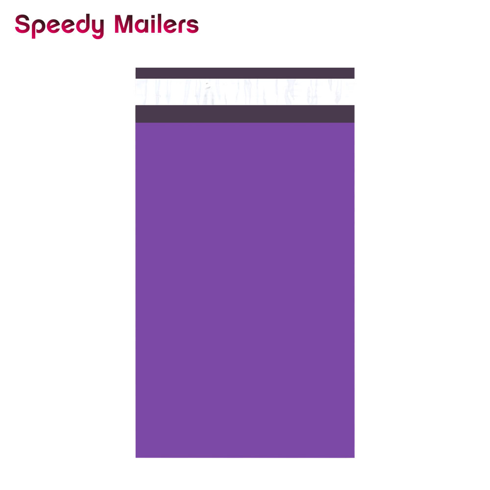 Speedy Mailers 100PCS 6x9inch 150*230mm Colorful Poly Mailer Purple Poly Mailer Self Seal Plastic Shipping Envelope Bags