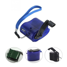 Universal Portable Charger Emergency Hand Power Dynamo Travel Outdoor Low Crank USB