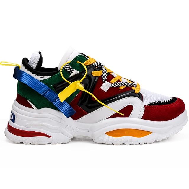 2019 NEW Men Running Shoes Height Increasing Sport Women Sneakers Breathable Zapatillas Hombre Deportiva Outdoor Walking Jogging