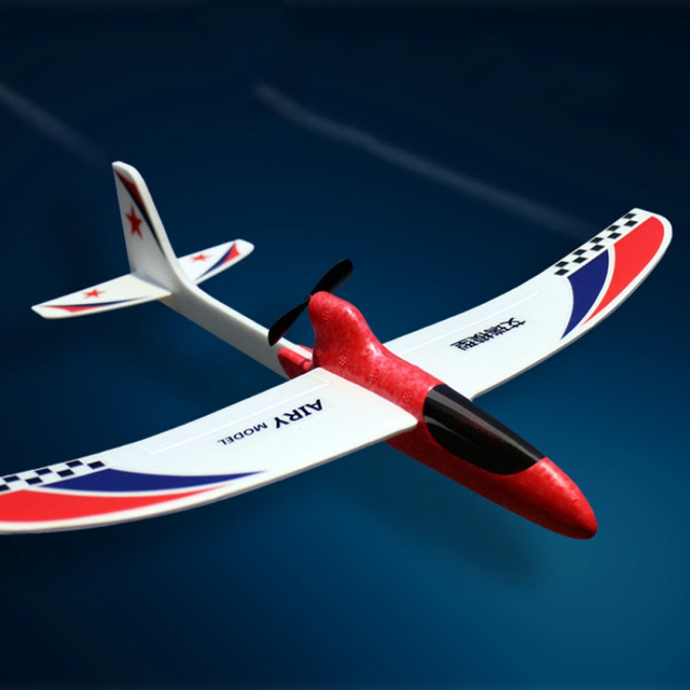 Image 2 - Toy Children Streamline Gift Capacitor Hand Throwing Electric Educational Model Funny DIY Glider Foam RC Airplane-in RC Airplanes from Toys & Hobbies