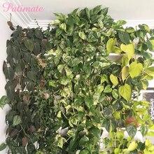 PATIMATE DIY Artificial Ivy Leaf Green Garland of Wedding Decoration Birthday Party Decs Fake Vine  Flower Plant