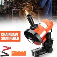 12V 85W Bar Mounted Electric Chainsaw Saw Blade Sharpener Grinder Set 4500RPM Chain Saw Woodworking Power Tool