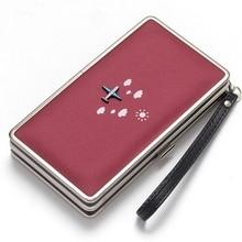 Womens Wallet In Long Mobile Phone Bag Cartoon Lunch Box Purse Tide