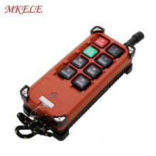 F21-E1B(include 1 Transmitter And 1 Receiver)/6 Buttons 1 Speed Hoist Crane Remote Control Radio Uting Remote Control industrial wireless radio remote control f21 4d for hoist crane 2 transmitter and 1 receiver