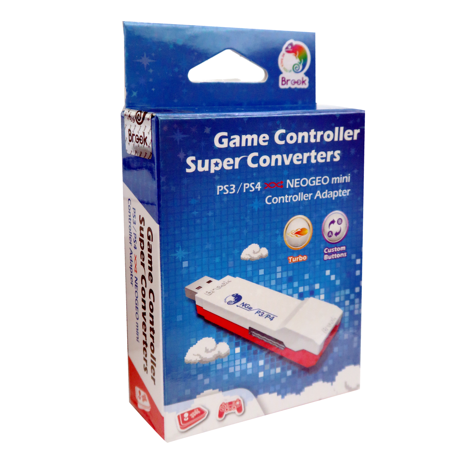 Brook Super Converter for PS4 PS3 to for NeoGeo Mini Controller Adapter
