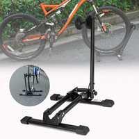 Adjustable Bicycle Parking Rack Bike Repair Stand Holder Storage Mountain Cycling Maintenance Bicycle Repair Tool