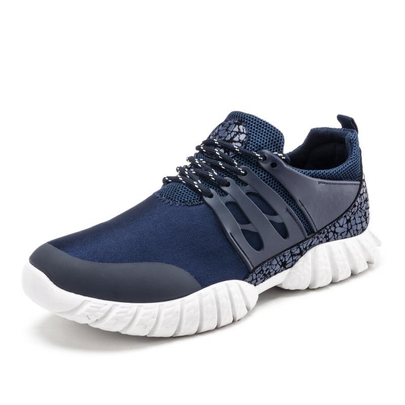 Maille Chaussures Casual De Mode bleu Noir Hommes Nouvelle Automne Printemps 2018 Respirante rouge gris qR8nFXtwR