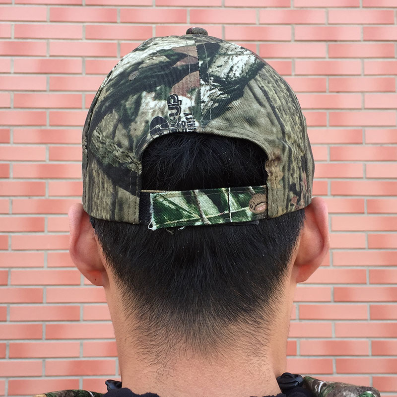 b2a7545c699e6 Men s Outdoor Hunting Cap Camouflage Hunting Hat Tactical Bionic Camo  Fishing Cap Hiking Men s Baseball Cap Camping Peaked Cap-in Hunting Caps  from Sports ...