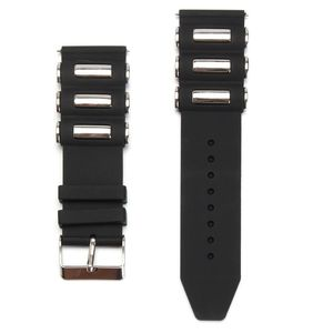 20/22/24/26mm Silicone Rubber Diver WatchBand Strap For Invicta-Excursion 18202 Black Men's Wristband Watch Bracelet Replacement(China)