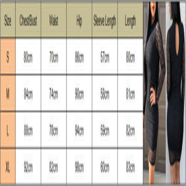 Brand New Fashion Women Sexy Ladies O-Neck Black Dress Bandage Bodycon Long Sleeve  Party Cocktail Short Mini Dress 5