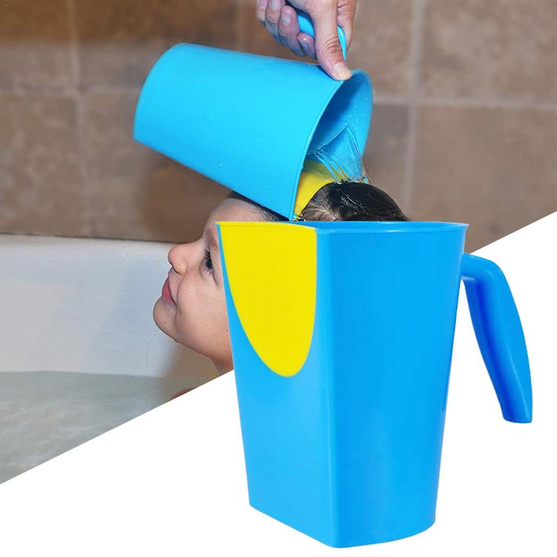 Baby Shampoo Rinse Cup Bath Rinser Pail For Kids Washing Hair Washing Out Shampoo By Protecting Infant Eyes