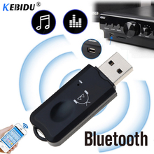 USB AUX Bluetooth V2.1 Receiver Adapter Dongle with Mic Audi
