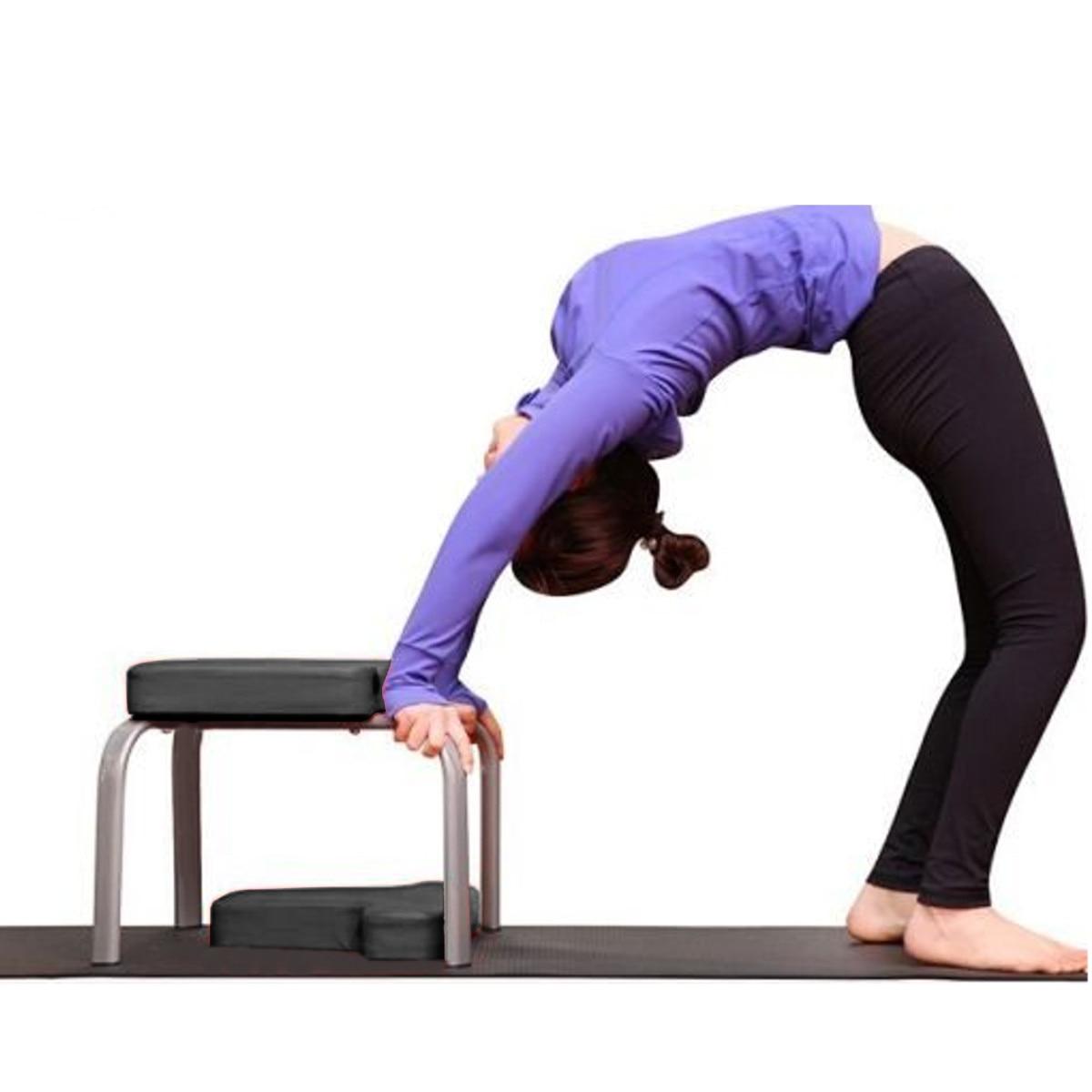 43*42*37 cm Yoga sida chaise d'entraînement tabouret tabouret multifonctionnel sport exercice banc équipement de Fitness noir - 3