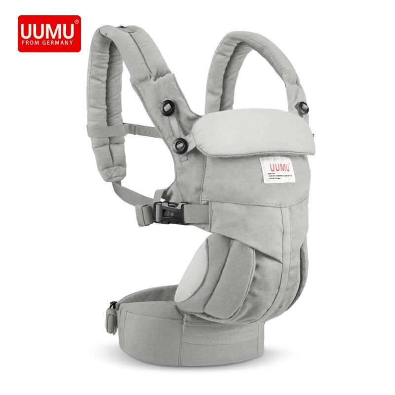 0-24 mois UUMU porte-bébé ergonomique nouveau-né porte-sac à dos porte-sac à bandoulière sans sac de rangement pour siège de hanche