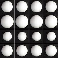 20 Pieces Round Solid Polystyrene Styrofoam Foam Ball For Wedding Craft, 150mm 180mm 200mm 250mm