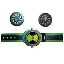 Kid Projector Watch Novelty & Gag Toys Christmas Gifts Ben 10 Projection rings Gags & Practical Jokes For Kids Childern Toy fashion novelty gags toy hat cartoon chameleon lizard jokes cap masquerade christmas decoration props kids adult practical toy