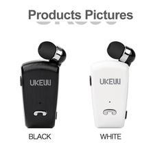 Draagbare Mini Oortelefoon Draadloze Bluetooth Business Oortelefoon Stereo Hd Geluiden Surround Auto Sport Uitje Apparaten Met Mic Clip