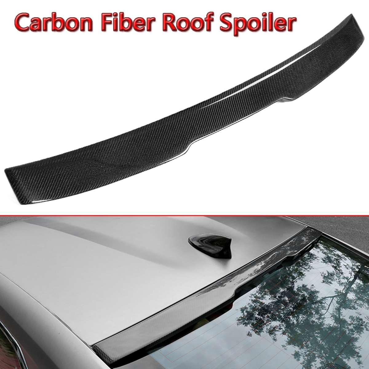 1x Carbon Fiber Dakspoiler Auto Achter Spoiler Voor Chevy Camaro Lt Rs Sport 2016-2018 Auto Spoiler Achterruitwisser Wing Auto