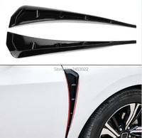 1Pair Glossy Black Side Fend Vent Air Wing Cover Trim Type R Side Air Vent Cover Trim Suitable forVolkswagen vw Golf 1 2 3 4 5 6